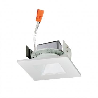 """4"""" Cobalt Square Regressed LED Retrofit Trim"""