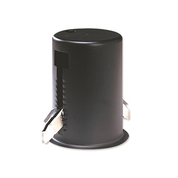 NOR NH-120B MINI TOWER HOUSING WITH THERMAL PROTECTOR FOR MR16 BLACK