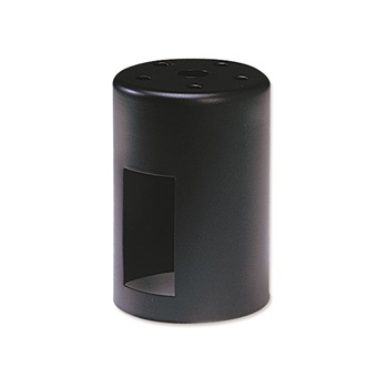 NOR NH-121B MINI TOWER HOUSING WITH THERMAL PROTECTOR FOR MR11 BLACK