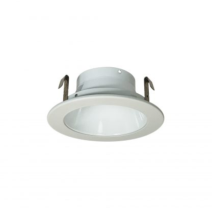 """Nora NS-46, 4"""" Specular White Reflector with Metal Trim"""